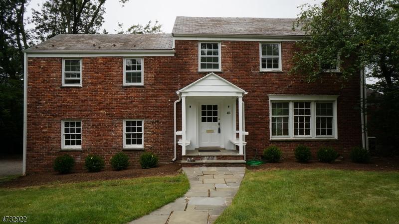 Частный односемейный дом для того Аренда на 55 Martindale Road Millburn, Нью-Джерси 07078 Соединенные Штаты