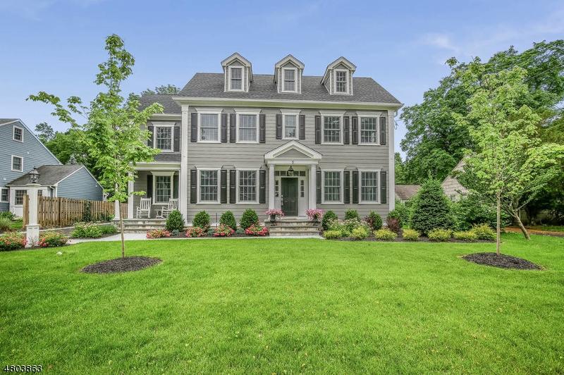 Eensgezinswoning voor Verkoop op 11 Whitman Drive Chatham, New Jersey 07928 Verenigde Staten