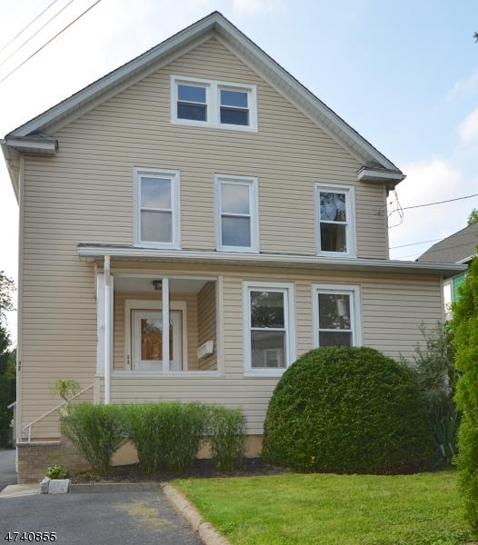 Частный односемейный дом для того Аренда на 92 WINANS Avenue Cranford, Нью-Джерси 07016 Соединенные Штаты