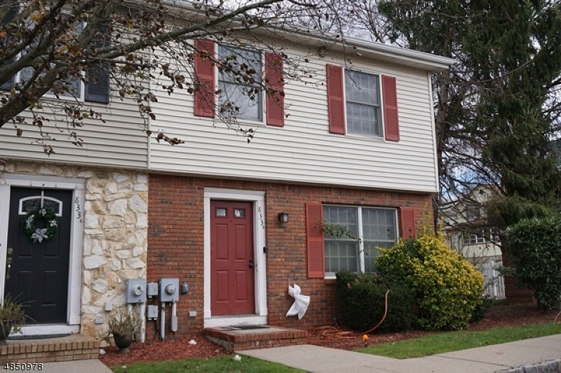 Condo / Townhouse for Sale at 833 VALLEY ST A Union, New Jersey 07088 United States