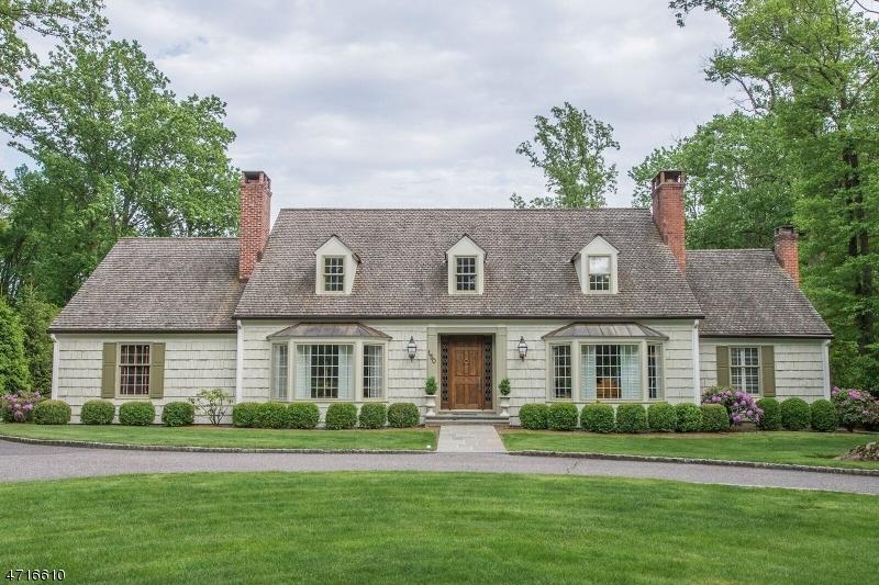 Maison unifamiliale pour l Vente à 150 OLDCHESTER Road Essex Fells, New Jersey 07021 États-Unis