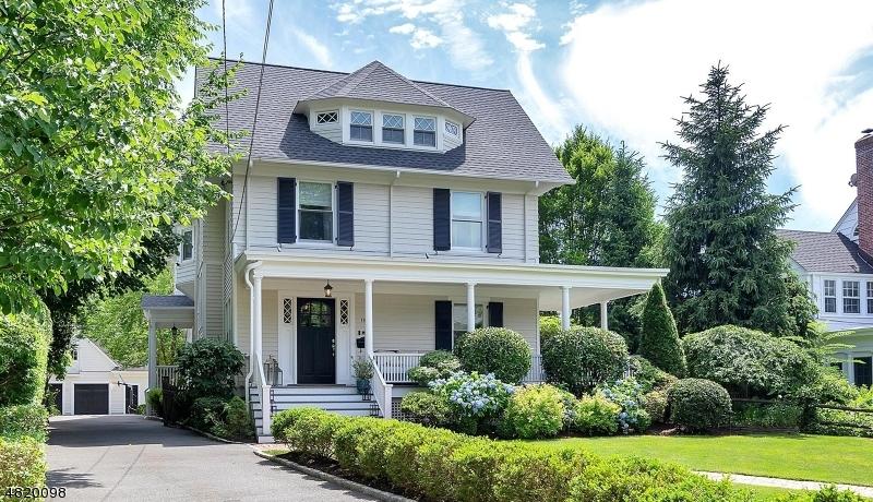 Maison unifamiliale pour l Vente à 186 COOPER Avenue Montclair, New Jersey 07043 États-Unis