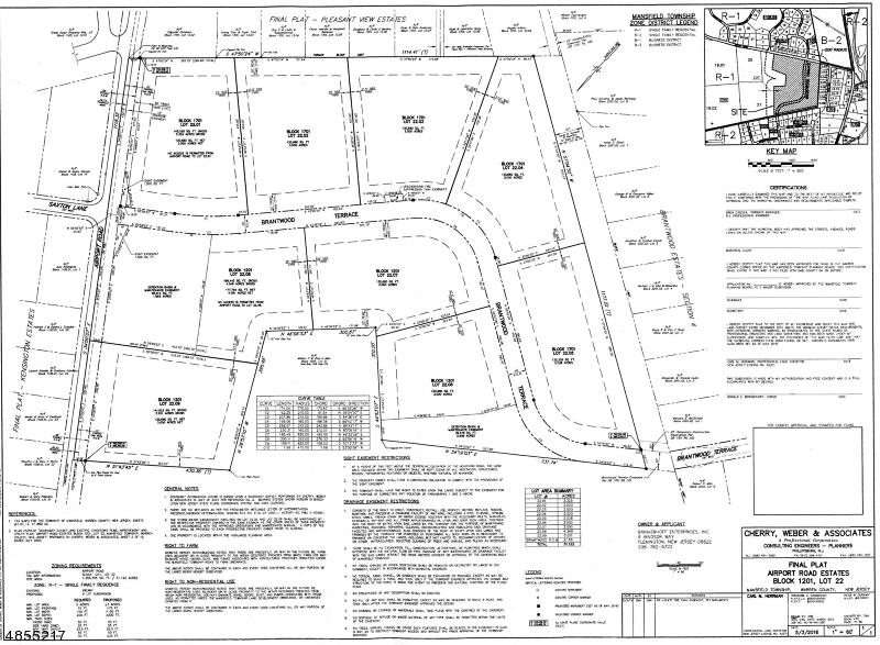 Land for Sale at airport Road Mansfield, New Jersey 07840 United States