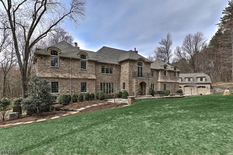 Maison unifamiliale pour l Vente à 23 Saddle Hill Road Mendham, New Jersey 07945 États-Unis