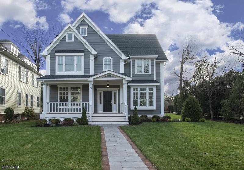Частный односемейный дом для того Продажа на 14 Fairfield Street Montclair, 07042 Соединенные Штаты
