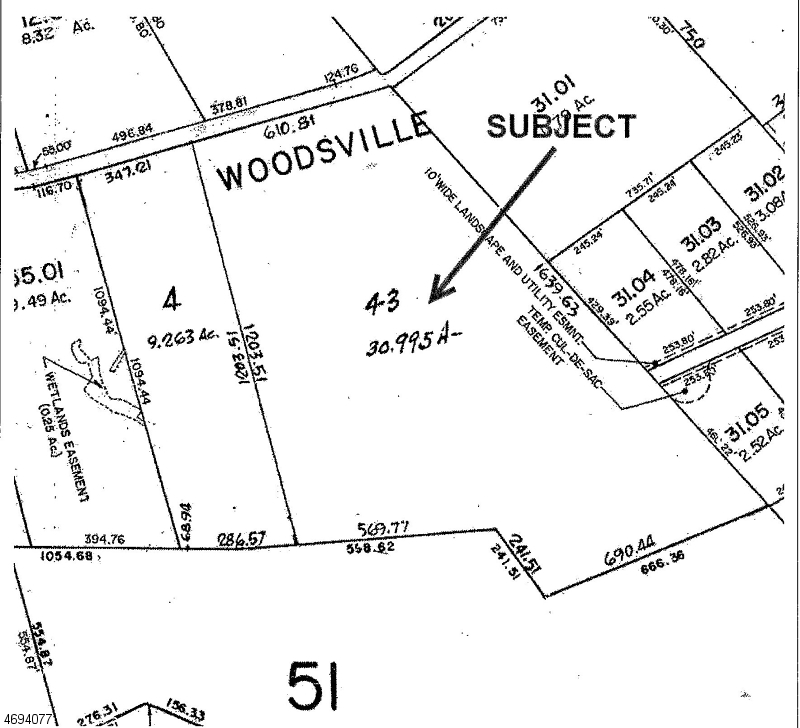 Land for Sale at 144 Harbourton Woodsville Road Hopewell, New Jersey 08525 United States