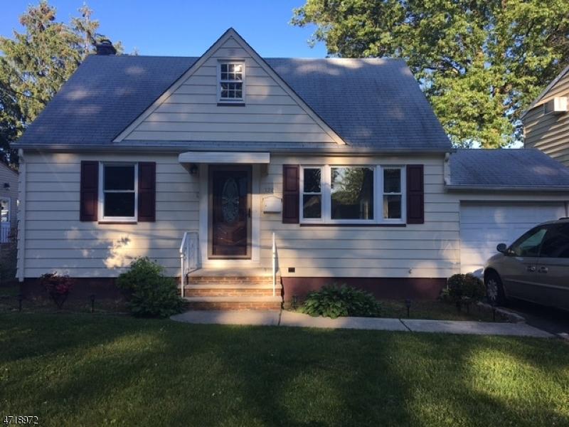 独户住宅 为 销售 在 1261 Harding Avenue Union, 新泽西州 07083 美国