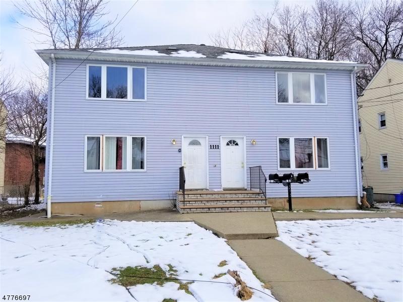 Многосемейный дом для того Продажа на 1111 SHERIDAN Avenue Roselle, Нью-Джерси 07203 Соединенные Штаты