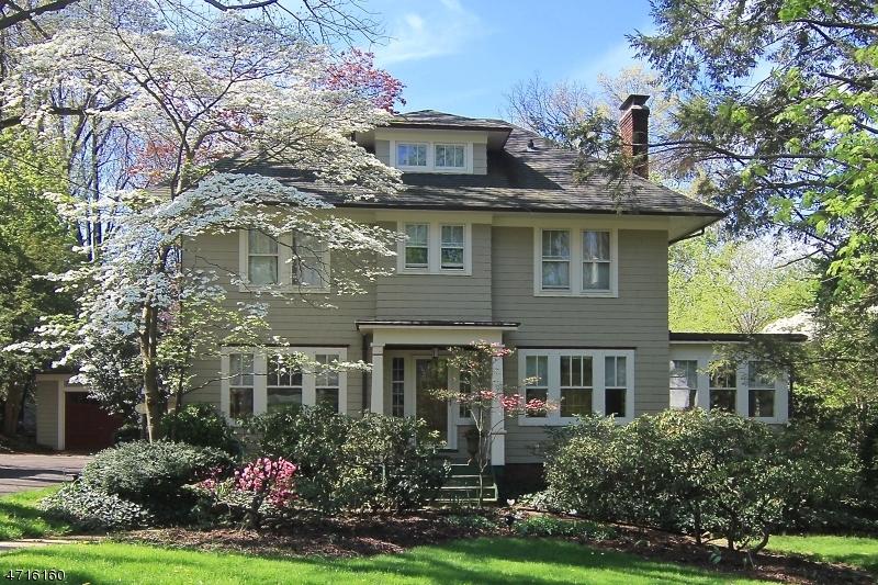 Частный односемейный дом для того Продажа на 40 Oakview Avenue Maplewood, 07040 Соединенные Штаты