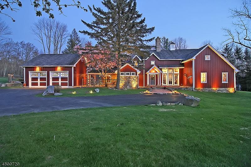 独户住宅 为 销售 在 312 Old Farm Road 莱巴嫩, 新泽西州 08826 美国