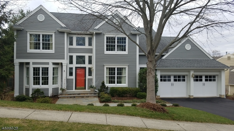 Частный односемейный дом для того Продажа на 7 Baldwin Drive New Providence, Нью-Джерси 07974 Соединенные Штаты