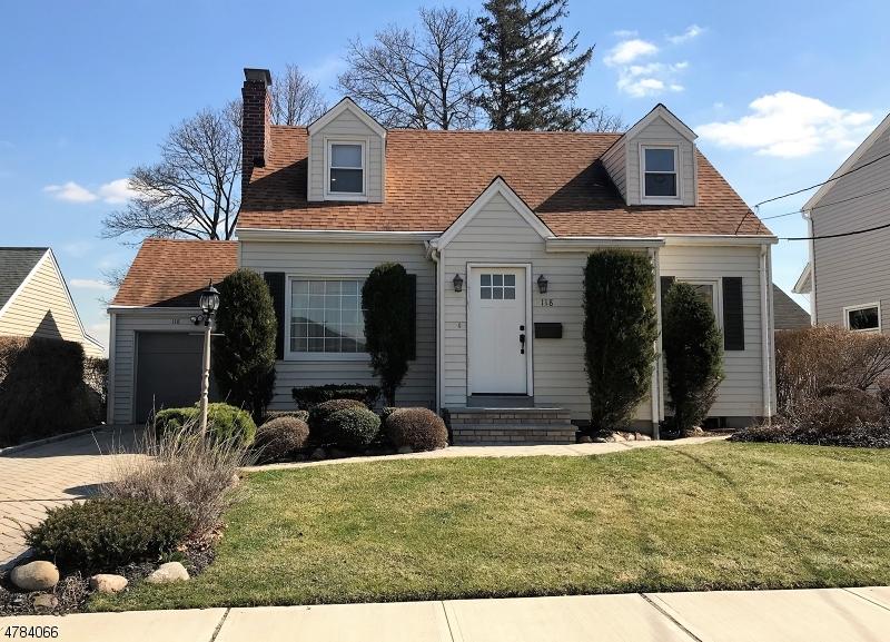 独户住宅 为 销售 在 118 7th Street Wood Ridge, 新泽西州 07075 美国