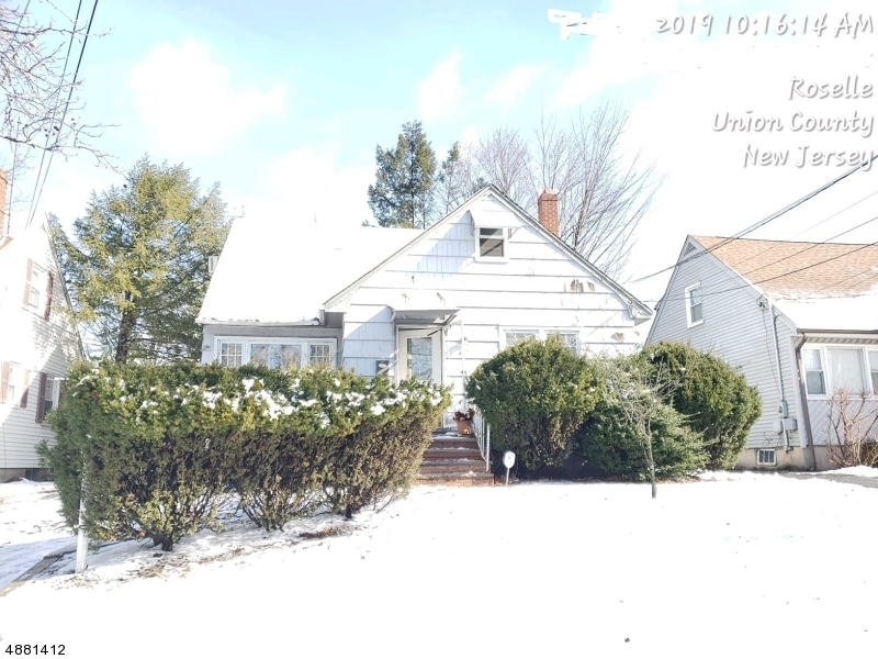 Single Family Home for Sale at 405 BARTLETT ST 405 BARTLETT ST Roselle, New Jersey 07203 United States