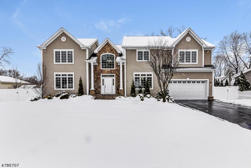 Частный односемейный дом для того Продажа на 4 Andrews Place Pequannock, Нью-Джерси 07444 Соединенные Штаты