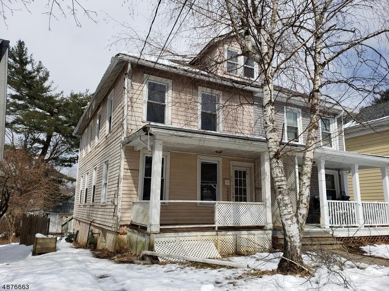 Property för Försäljning vid 85 PARK Avenue Washington, New Jersey 07882 Förenta staterna
