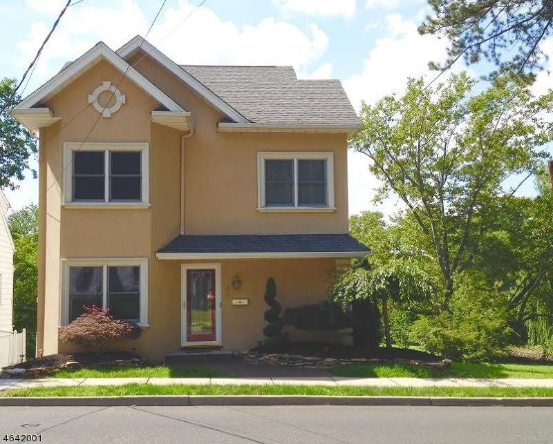 独户住宅 为 销售 在 407 Passaic Avenue 纳特利, 07110 美国