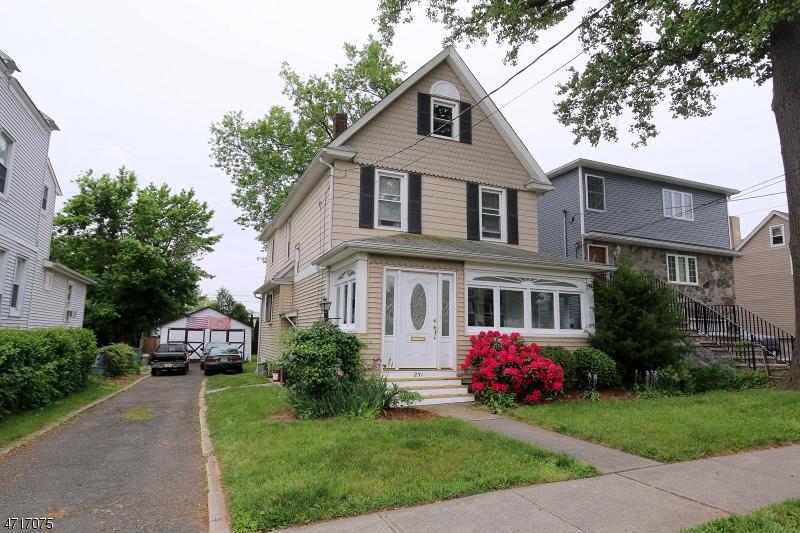 Частный односемейный дом для того Продажа на 251 2nd Avenue Garwood, Нью-Джерси 07027 Соединенные Штаты