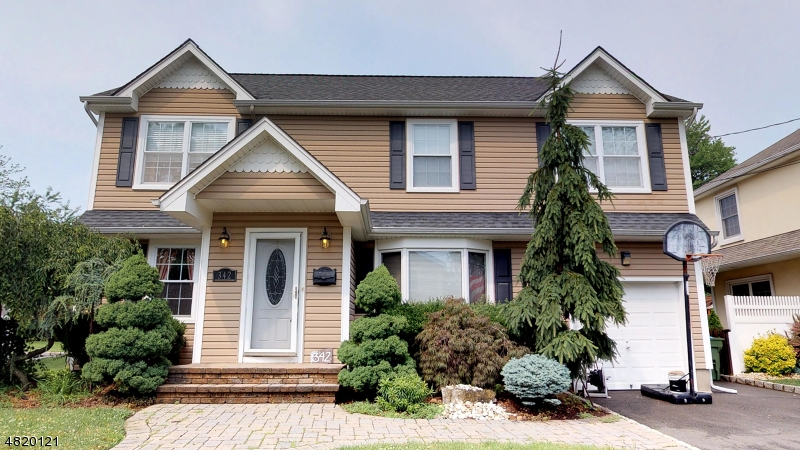 Eensgezinswoning voor Verkoop een t 342 AMHERST Road Linden, New Jersey 07036 Verenigde Staten