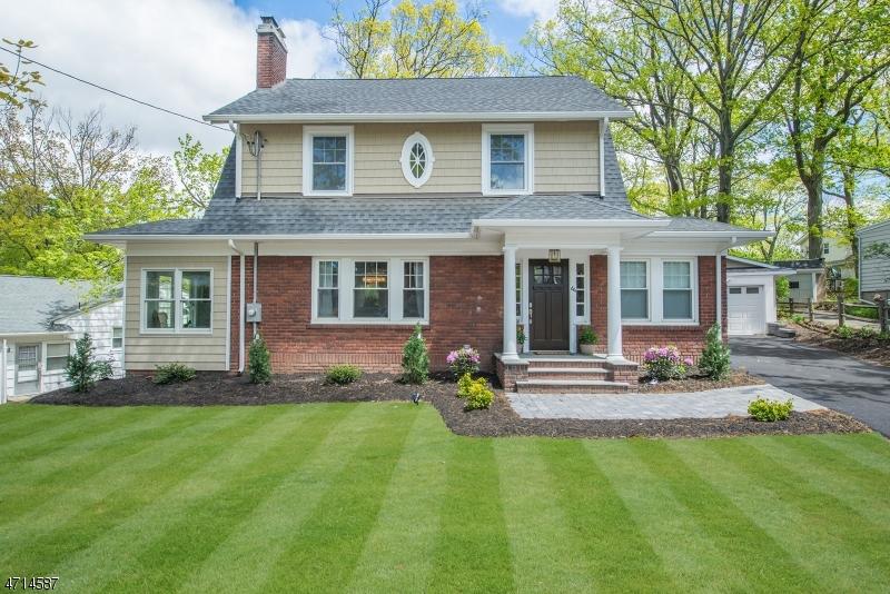 Casa Unifamiliar por un Venta en 64 Chestnut Road Verona, Nueva Jersey 07044 Estados Unidos