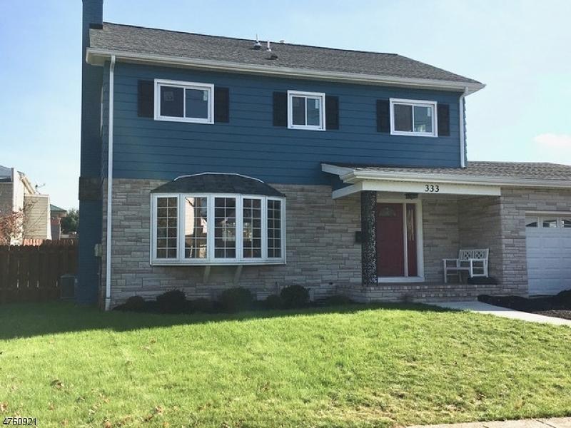 Casa Unifamiliar por un Venta en 333 Pope Street Manville, Nueva Jersey 08835 Estados Unidos