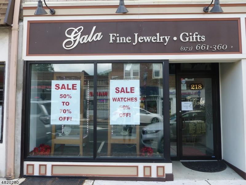 Коммерческий для того Аренда на 218 FRANKLIN Avenue Nutley, Нью-Джерси 07110 Соединенные Штаты