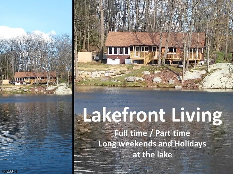 Single Family Home for Sale at 321 E Lakeshore Dr-Lakefront Highland Lakes, 07422 United States