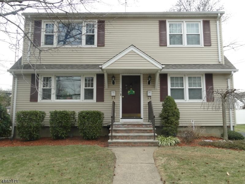 Casa Unifamiliar por un Alquiler en 54 Center Avenue Little Falls, Nueva Jersey 07424 Estados Unidos