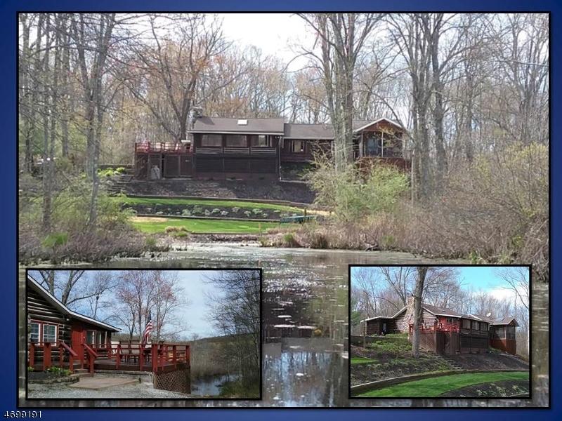 Частный односемейный дом для того Продажа на 6 Oak Hill Road Fredon, 07860 Соединенные Штаты