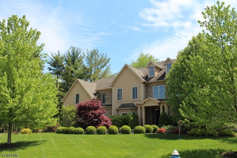Частный односемейный дом для того Аренда на 3 Heritage Court Basking Ridge, Нью-Джерси 07920 Соединенные Штаты