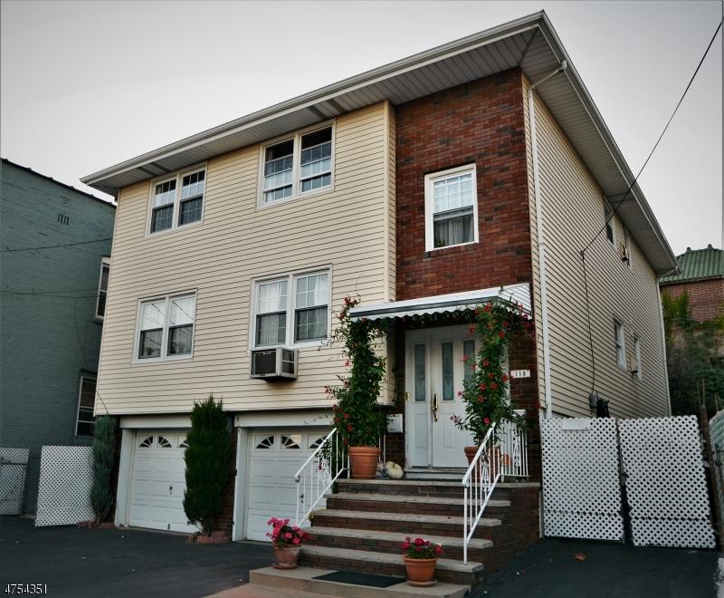 Многосемейный дом для того Продажа на 113 Farnham Avenue Garfield, Нью-Джерси 07026 Соединенные Штаты