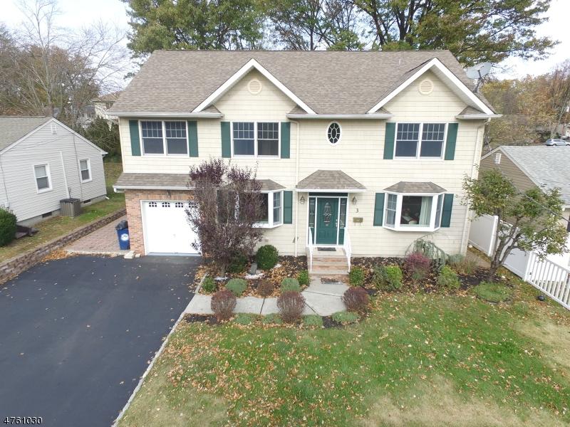 Single Family Home for Sale at 3 Linda Lane 3 Linda Lane Clark, New Jersey 07066 United States