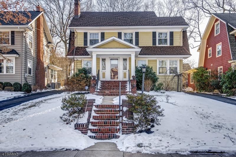Частный односемейный дом для того Продажа на 12 Rutgers Street Maplewood, Нью-Джерси 07040 Соединенные Штаты