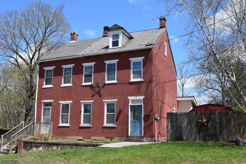 Casa Multifamiliar por un Venta en 74 N 1st Street Lopatcong, Nueva Jersey 08865 Estados Unidos