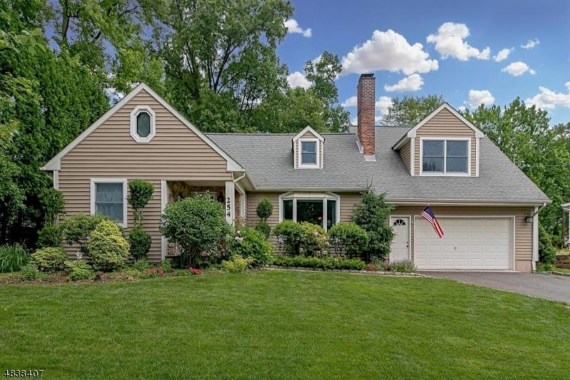 独户住宅 为 销售 在 254 HICKORY Lane Mountainside, 新泽西州 07092 美国