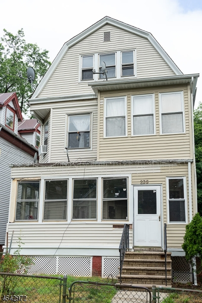 Multi-Family Home for Sale at 235 Mount Vernon Avenue Orange, New Jersey 07050 United States