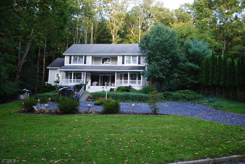 Частный односемейный дом для того Продажа на 59 Mine Hill Road Oxford, Нью-Джерси 07863 Соединенные Штаты