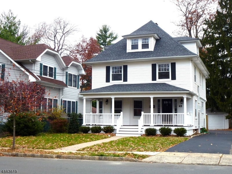 Частный односемейный дом для того Аренда на 45 Ashland Road Summit, 07901 Соединенные Штаты