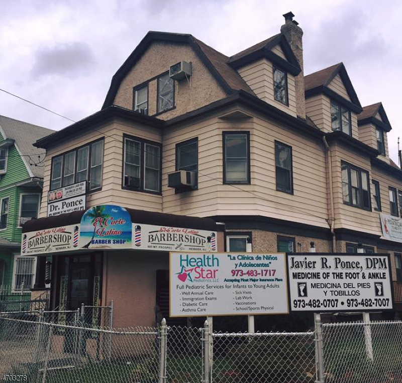 Commercial for Sale at 685-687 MT PROSPECT Avenue Newark, 07104 United States