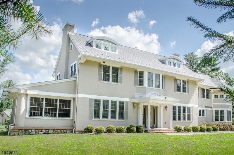 Maison unifamiliale pour l Vente à 57 OLD INDIAN ROAD West Orange, New Jersey 07052 États-Unis