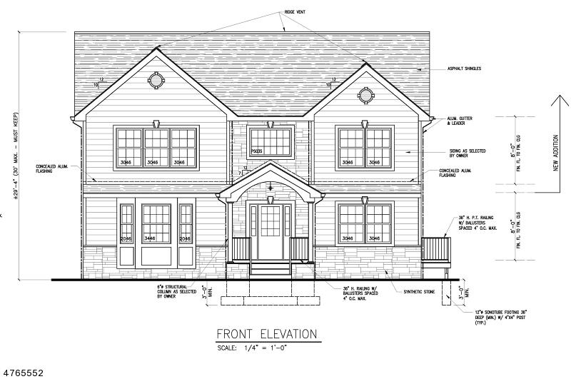 واحد منزل الأسرة للـ Sale في 52 Saint James Place 52 Saint James Place Clifton, New Jersey 07013 United States