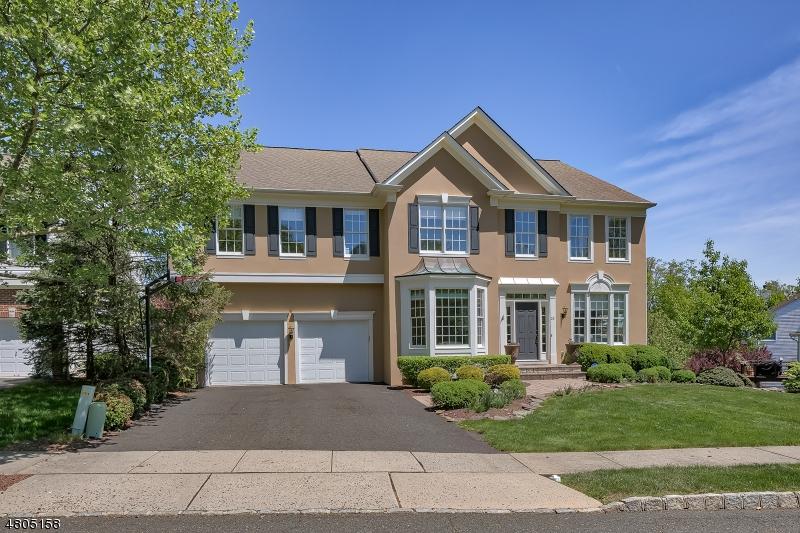 Enfamiljshus för Hyra vid 23 QUEENBERRY WAY Bernards Township, New Jersey 07920 Usa