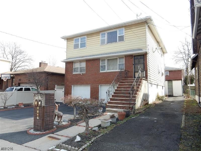 Многосемейный дом для того Продажа на 612 Van Buren Avenue Linden, Нью-Джерси 07036 Соединенные Штаты