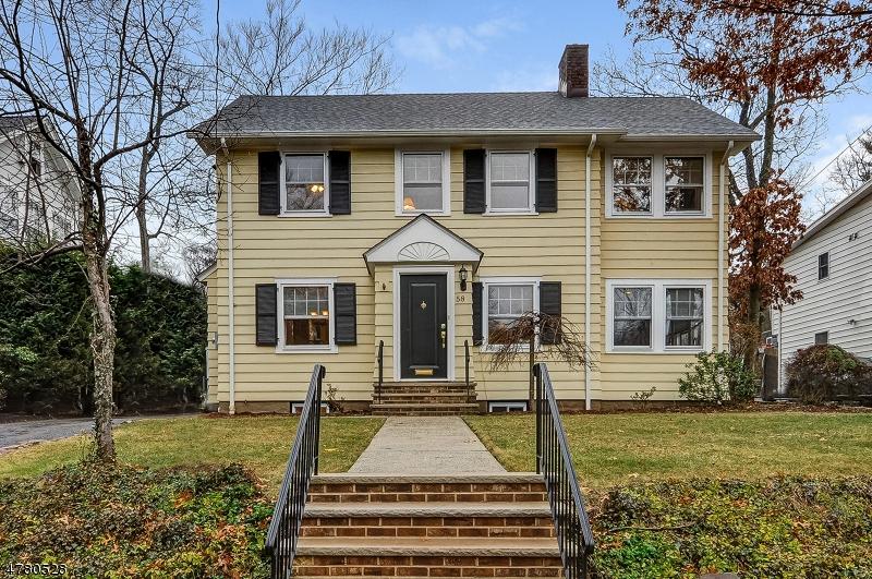 Maison unifamiliale pour l Vente à 58 Kendall Avenue Maplewood, New Jersey 07040 États-Unis