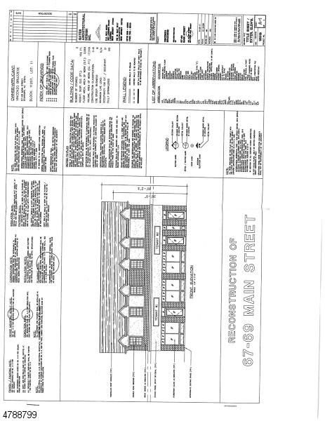 Земля для того Продажа на 67-69 MAIN Street Stanhope, Нью-Джерси 07874 Соединенные Штаты