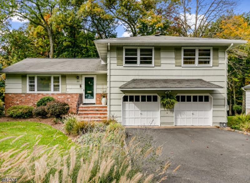 独户住宅 为 销售 在 1100 SADDLE BROOK Road Mountainside, 新泽西州 07092 美国