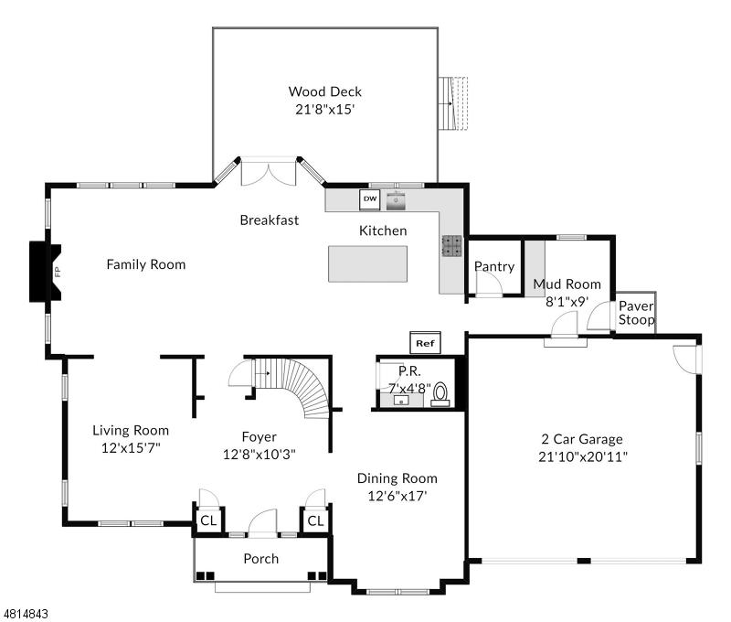 Single Family Homes pour l Vente à Allendale, New Jersey 07401 États-Unis