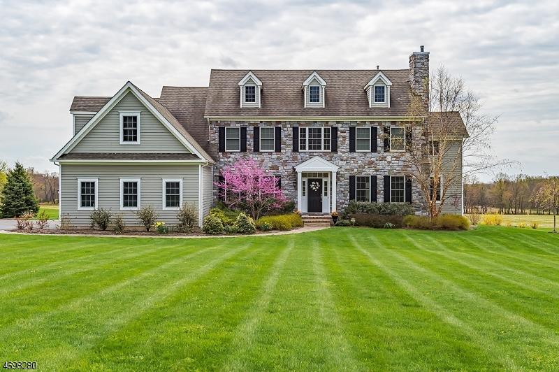 Casa Unifamiliar por un Venta en 18 Mount Salem Road Pittstown, Nueva Jersey 08867 Estados Unidos