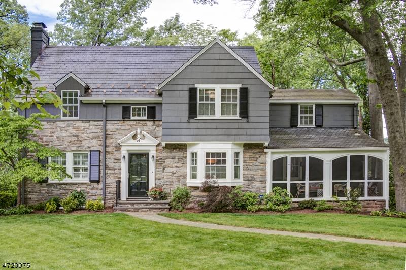 Maison unifamiliale pour l Vente à 14 SOUTH CRESCENT Maplewood, New Jersey 07040 États-Unis