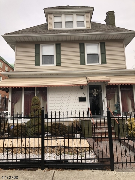 Single Family Home for Sale at 64 Edgerton Ter East Orange, New Jersey 07017 United States