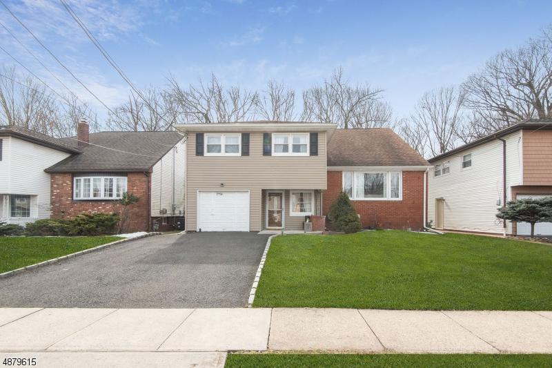 Частный односемейный дом для того Продажа на 2756 AUDREY TER Union, Нью-Джерси 07083 Соединенные Штаты